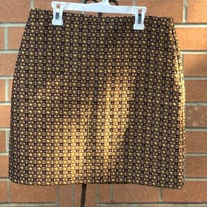 Loft work/casual mini skirt